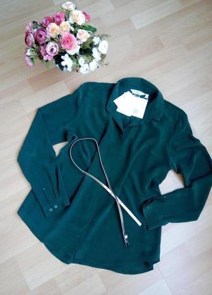 Новая блуза 100% шелк carelabel цена по бирке 79 евро