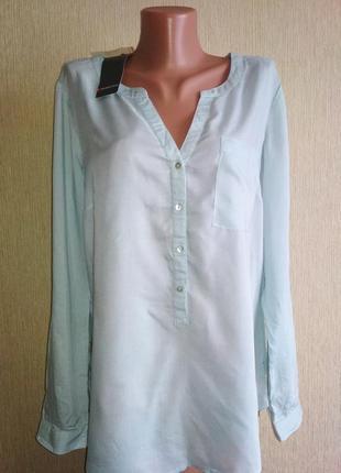 Симпатичная блуза рубашка 💯 вискоза, новая
