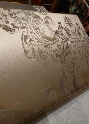 Элитное постельное белье тм вилюта сатин жаккард tiare 1805 евро размер4