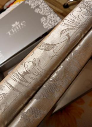Элитное постельное белье тм вилюта сатин жаккард tiare 1805 евро размер5