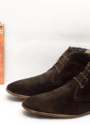 Ботинки мужские осень lloyd размер 44 стелька 29 см