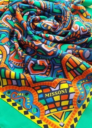 Новый платок 💯шелк missoni.