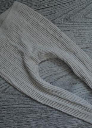 Вязанные лосинки на 12-18мес
