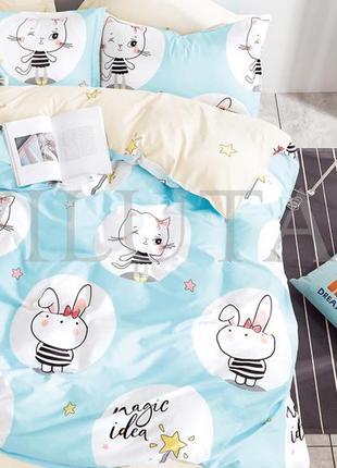 Подростковое постельное белье тм вилюта сатин-твил, хлопок, постель