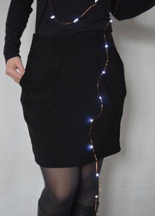 Стильная #юбка, #флисовая, #теплая, #офисная, #футляр, #классика, с-м