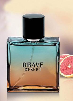 Туалетная парфюмированная вода brave desert