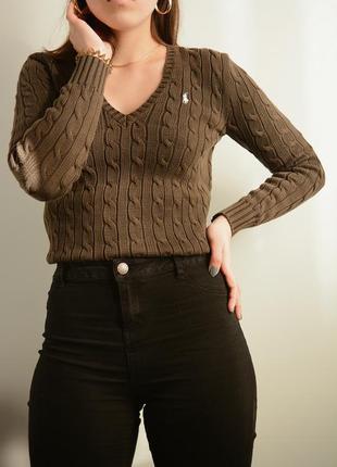 Оригинальный свитер от ralph lauren sport  🔥