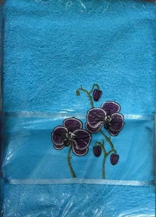 Набор полотенец gulcan орхидея 2шт2