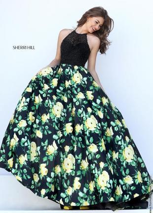 Выпускное вечернее платье sherri hill