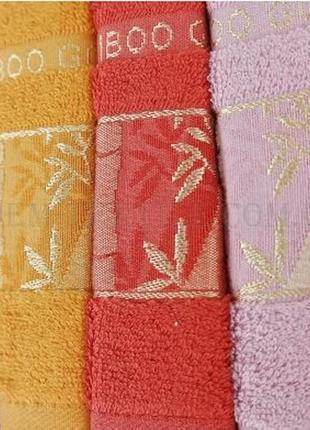 Набор кухонных полотенец philippus бамбук gold 6шт3