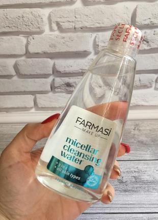 Мицеллярная вода farmasi