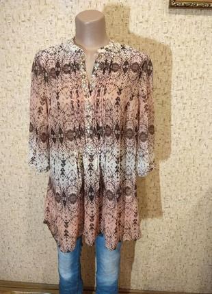 Шикарная блуза 52 англия