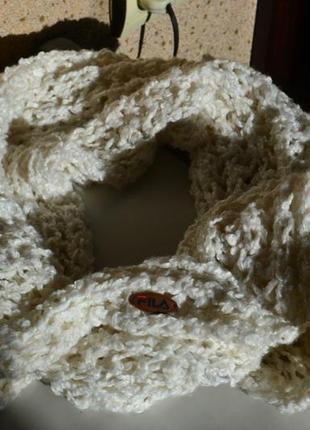 Fila шарф хомут мягкий