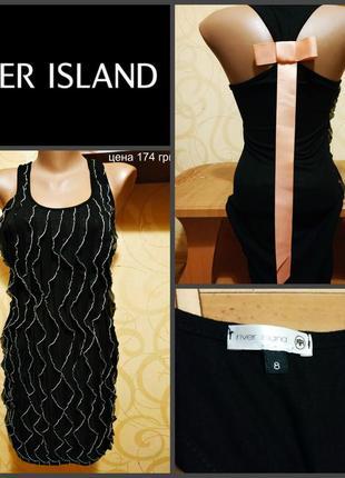 Короткое платье от river island, оригинал р. s