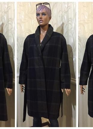 Демисезонное пальто - шерсть, cos, размер м