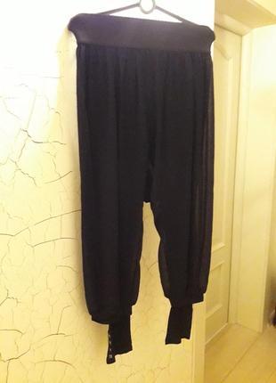 Индийские шелковые штаны . черные. 650 грн. размер 40