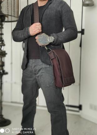 Ted baker. 100% оригинальная текстильная мужская сумка