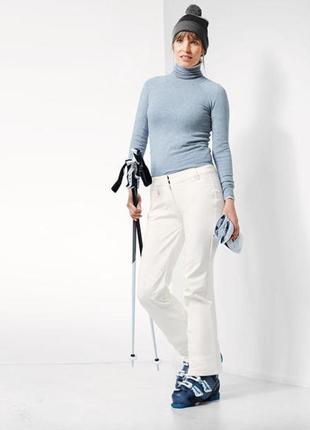 Отличные лыжные штаны softshell с пропиткой ecorepel тсм tchibo германия 42 размер наш 48