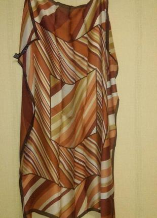 Красивый шелковый платок оригинал