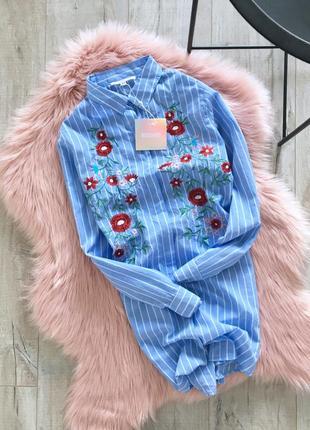 Рубашка с вышывкой missguided