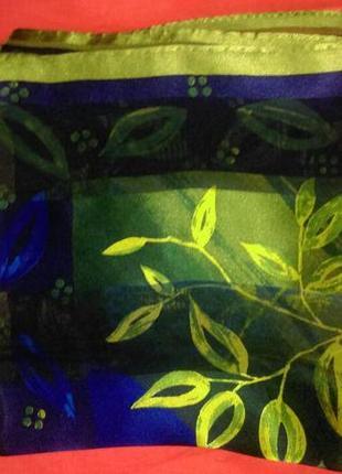 Сочный шелковый платок