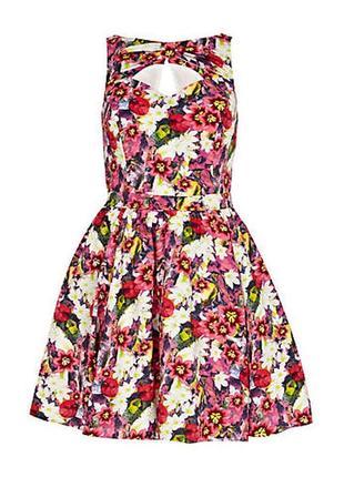 Оболденное яркое платье river island