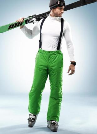 Мужские яркие лыжные брюки от tchibo германия размер xl наш 56-58 размер