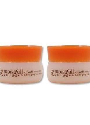 Коллагеновый крем для лица moistfull cream collagen etude house колаген корея миниатюра