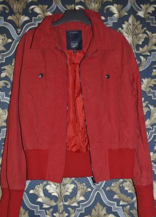 Куртка gas ветровка красная