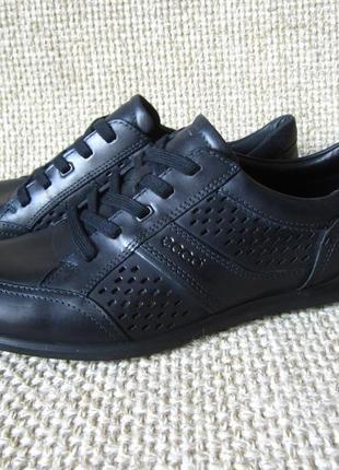 Туфли кроссовки кожанные ecco chander 535074 оригинал размер 43