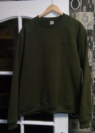 Solognac свитер для охоты рыбалки зеленый