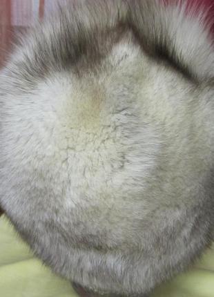 Песцовая шапка2 фото