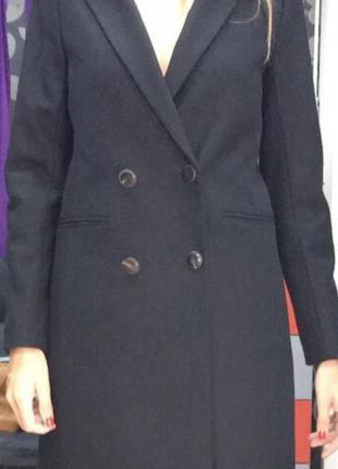 Пальто maje, оригинал. новое. 75% шерсть, 25%-полиамид. 34,36,38 размеры.1
