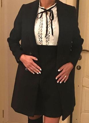 Пальто maje, оригинал. новое. 75% шерсть, 25%-полиамид. 34,36,38 размеры.4