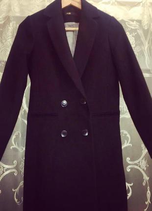Пальто maje, оригинал. новое. 75% шерсть, 25%-полиамид. 34,36,38 размеры.3