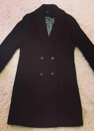 Пальто maje, оригинал. новое. 75% шерсть, 25%-полиамид. 34,36,38 размеры.2