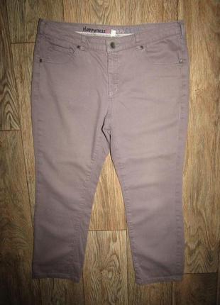 Укороченные джинсы р-р л бренд happy