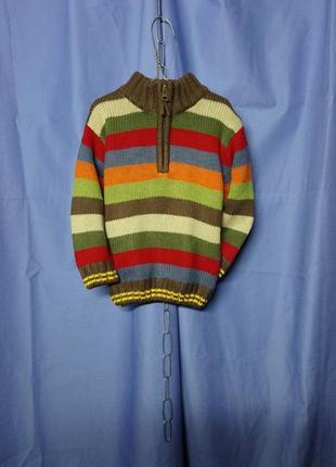 Красивый теплый  свитерок 🌈 minoti