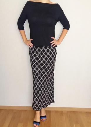 Debenhams макси юбка в ромбы на 52-54 размер