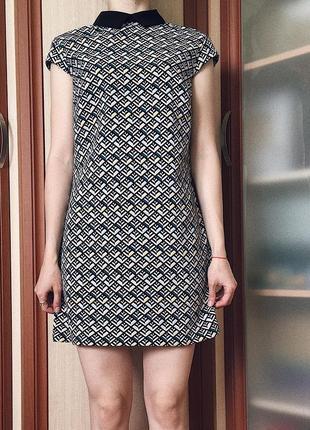 Платье с воротником, платье befree, платье в ретростиле
