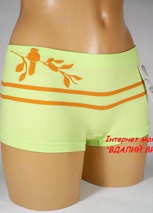 Трусы-шортики бесшовные greenice арт.2758