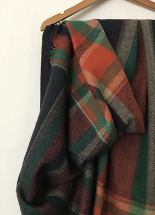 Уютный и очень тёплый объёмный шарф от бренда zara