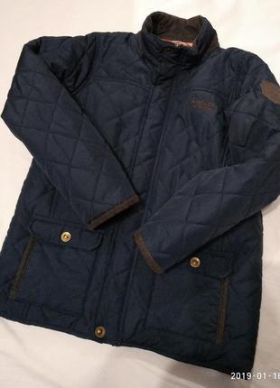 Стеганая демисезонная куртка regatta  11-12 лет 152 см