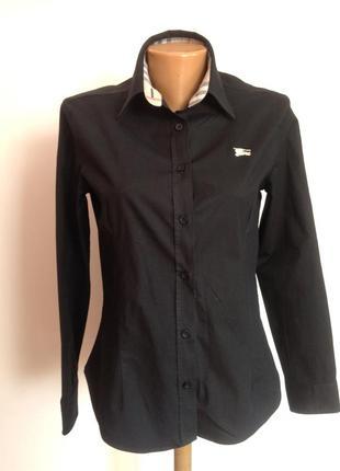 Фирменная  коновая рубашка. m- l/ brend burberry