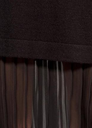 273ac54eded ... Черное платье свитер с плиссированной вставкой   mohito3 фото ...