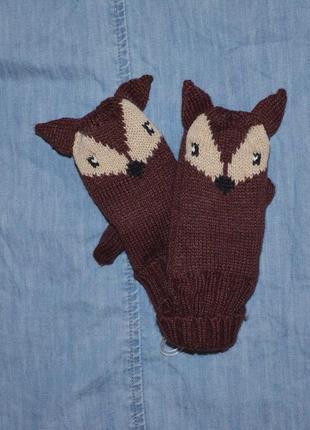 Варежки, рукавички kiabi на 2-3 года1