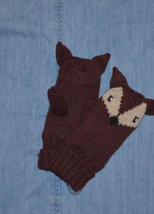 Варежки, рукавички kiabi на 2-3 года4