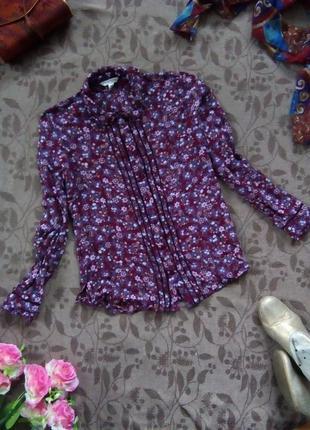 Очень красивая блуза модной расцветки с эксклюзивной отделкой