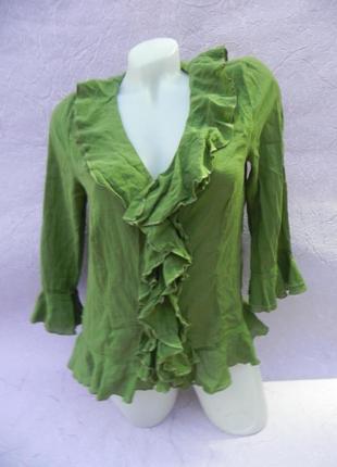 Блуза блузка хлопок marks & spencer