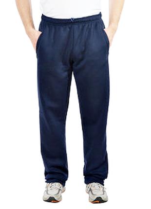 Спортивные штаны баталы на флисовой подкладке